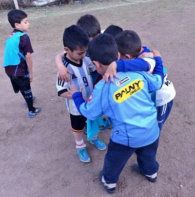 Børn på sportsprojektet