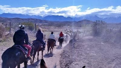 Udflugt på hesteryg