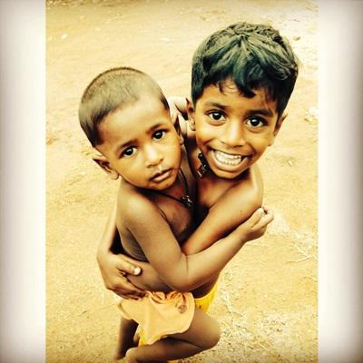 Nana Thunø - Humanitært arbejde - Sri Lanka