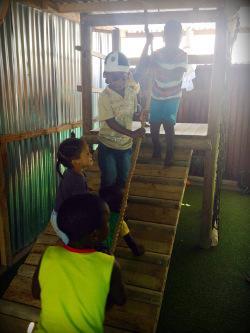 Nelli Volmark - Humanitært arbejde - Sydafrika