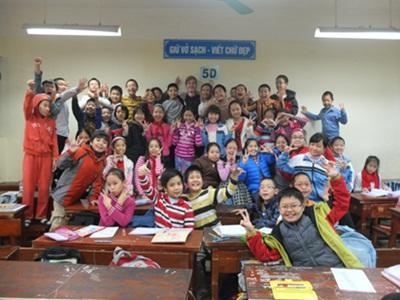 Undervisning i Vietnam – Rasmus Nyegaard