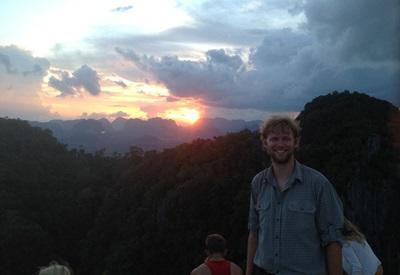 Frivillig på udflugt i Thailand