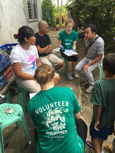 Frivillige og lokale indbyggere taler om folkesundhed