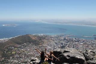 På udflugt i Sydafrika