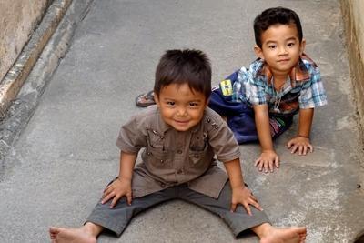 Billede fra et humanitært projekt i Phnom Penh