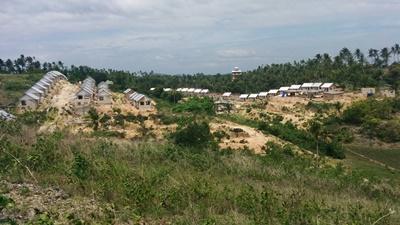 Nybyggede huse i Filippinerne