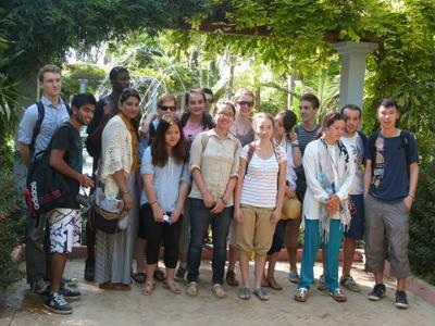 Group volunteering Morocco