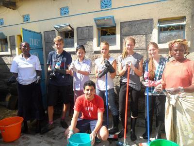 Group volunteering