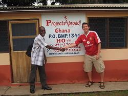 Projects Abroad staff in Ho region
