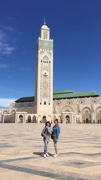 Volunteers travel around Morocco