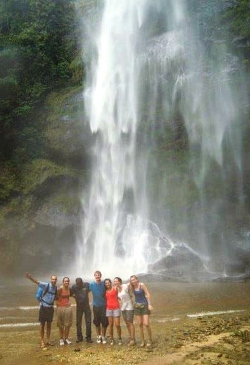 At Wli falls