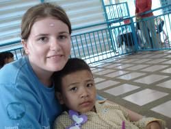 Cambodia volunteer project