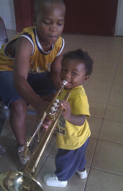 Music project in Jamaica