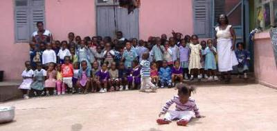 Kids at care placement