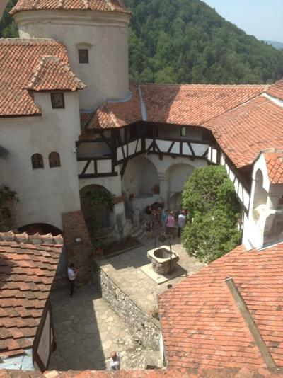 A view of the Bran Castle