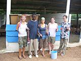 After painting the primary school