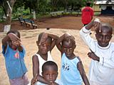 Children in Kwamoso