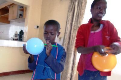 Locals in Kenya