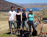 Mountain biking trip