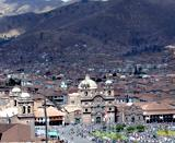 View over the plaza in Cuzco