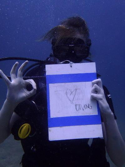 Diving project Thailand
