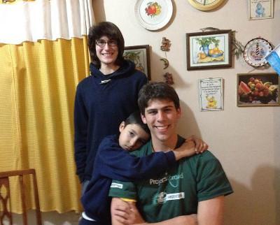Volunteer host family Argentina