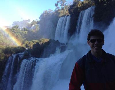 Volunteer weekend trip waterfalls Argentina