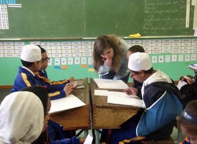 Volunteer teaching project South Africa