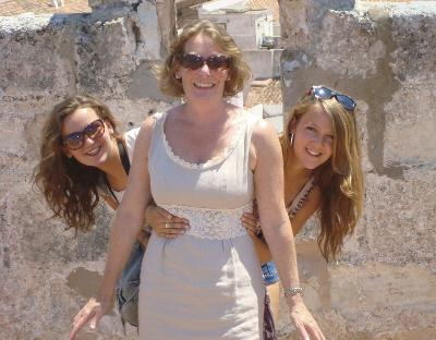 Bryony, Harriet and mum