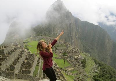 Bryony in Peru