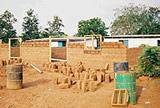 Building new classrooms at Kwamoso