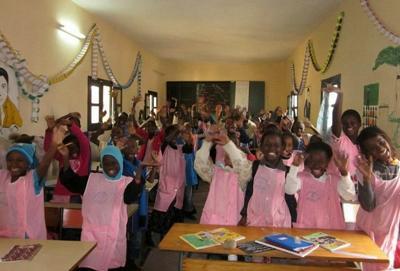 Volunteer placement at a school in Senegal