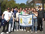 Volunteers and friends