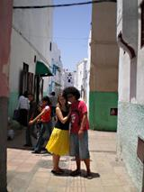A street in the Medina