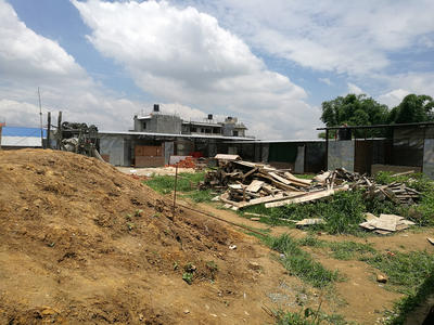 The site of one of the Building placements in Nepal