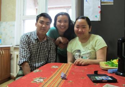 Mongolia host family