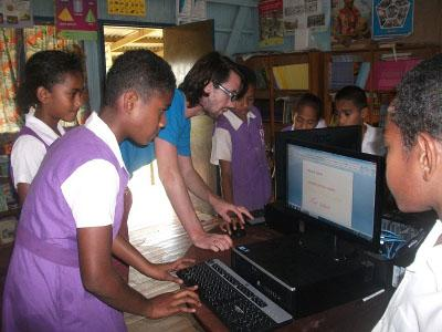 Fiji volunteer work