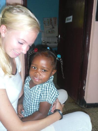 At orphanage