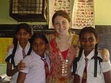 With children from my school