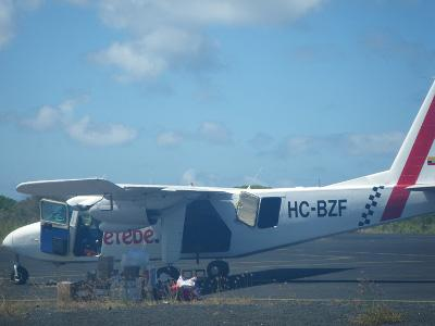 Island hopping Galapagos