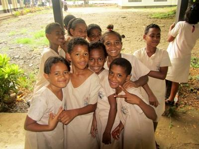 School children in Fiji