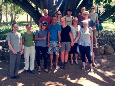 Volunteers in Botswana