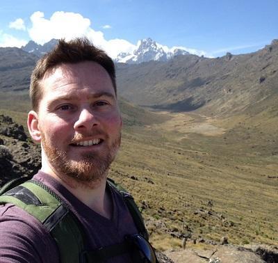 Dean exploring Kenya during his free time
