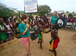 Dancing in Ghana