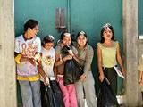 Children at Maria Christina