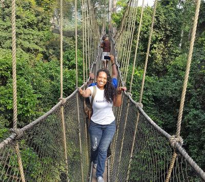 Travelling around Ghana