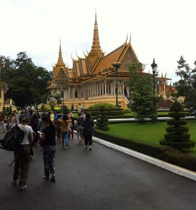 Free time in Cambodia