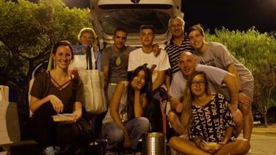 Volunteers enjoying their free time in Argentina