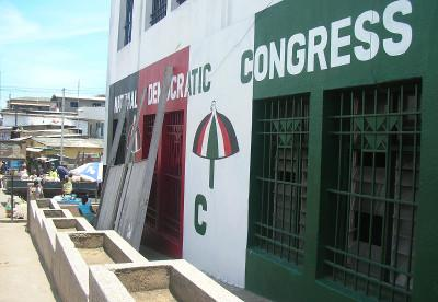 NDC building in Cape Coast