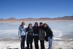 Visiting the salt lakes
